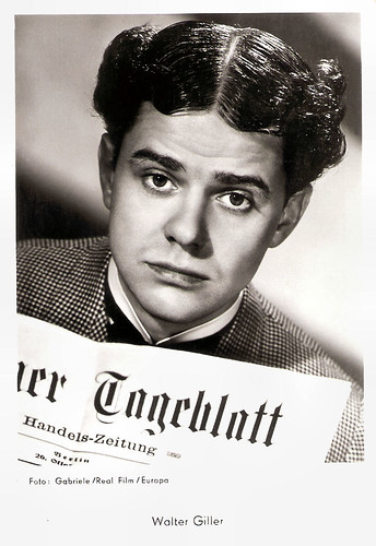 Walter Giller in Der Hauptmann von Köpenick (1956)
