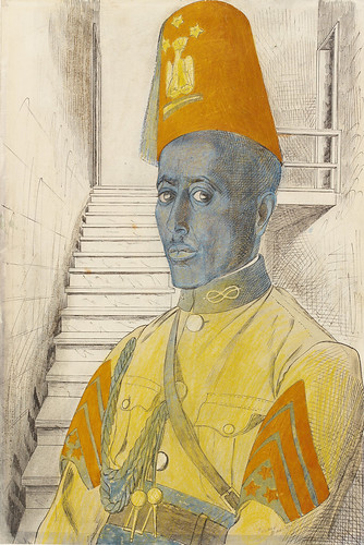 A sergeant in the Police Force formed by the Italians