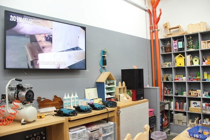 特力屋手創空間 特力屋台中西屯 特力屋DIY 特力屋木工體驗 木工手作教學 親子DIY 特力屋寵物餐桌 寵物餐桌自製10