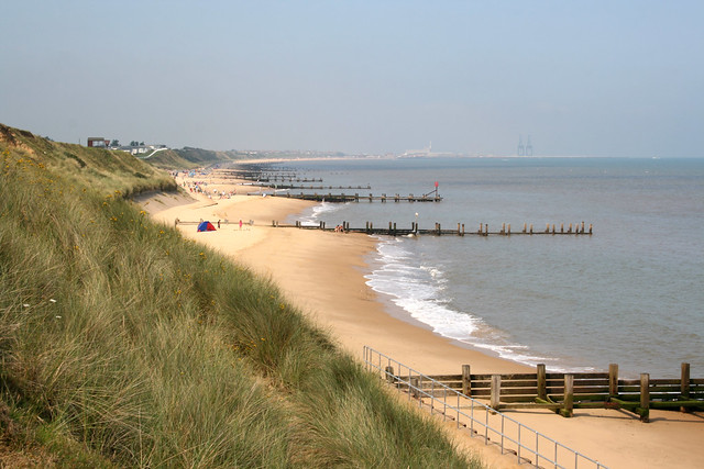 The beach at Hopton-on-Sea