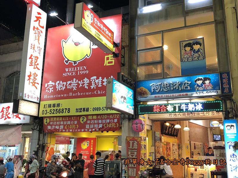 新竹城隍廟美食08家鄉碳烤雞排