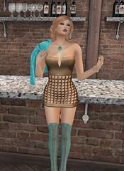Nala Designs Yanira Mini Dress