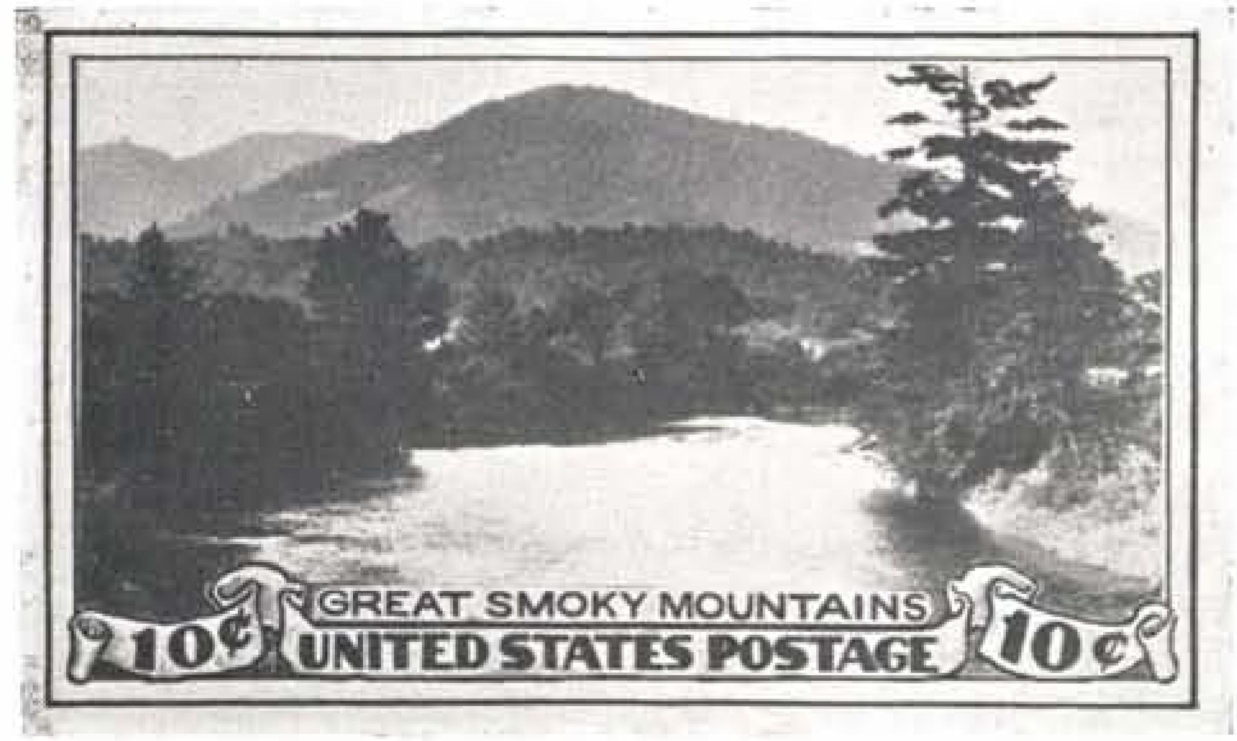 Unused design drawings by Victor S. McCloskey, Jr. in horizontal format