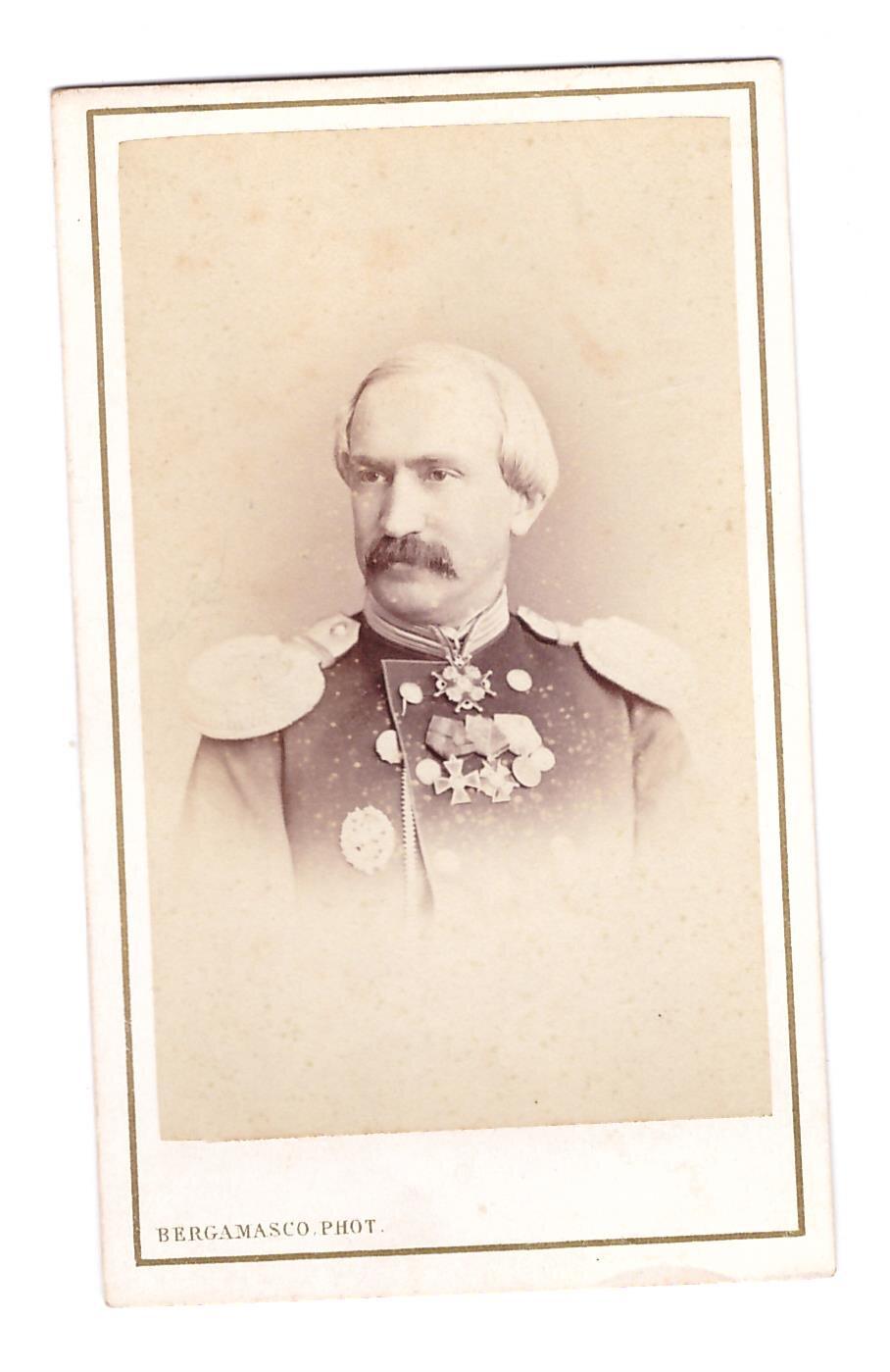 1870-е. Генерал Духовской в военном мундире