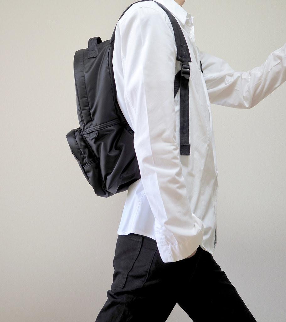 タンカーデイパック/白シャツ横