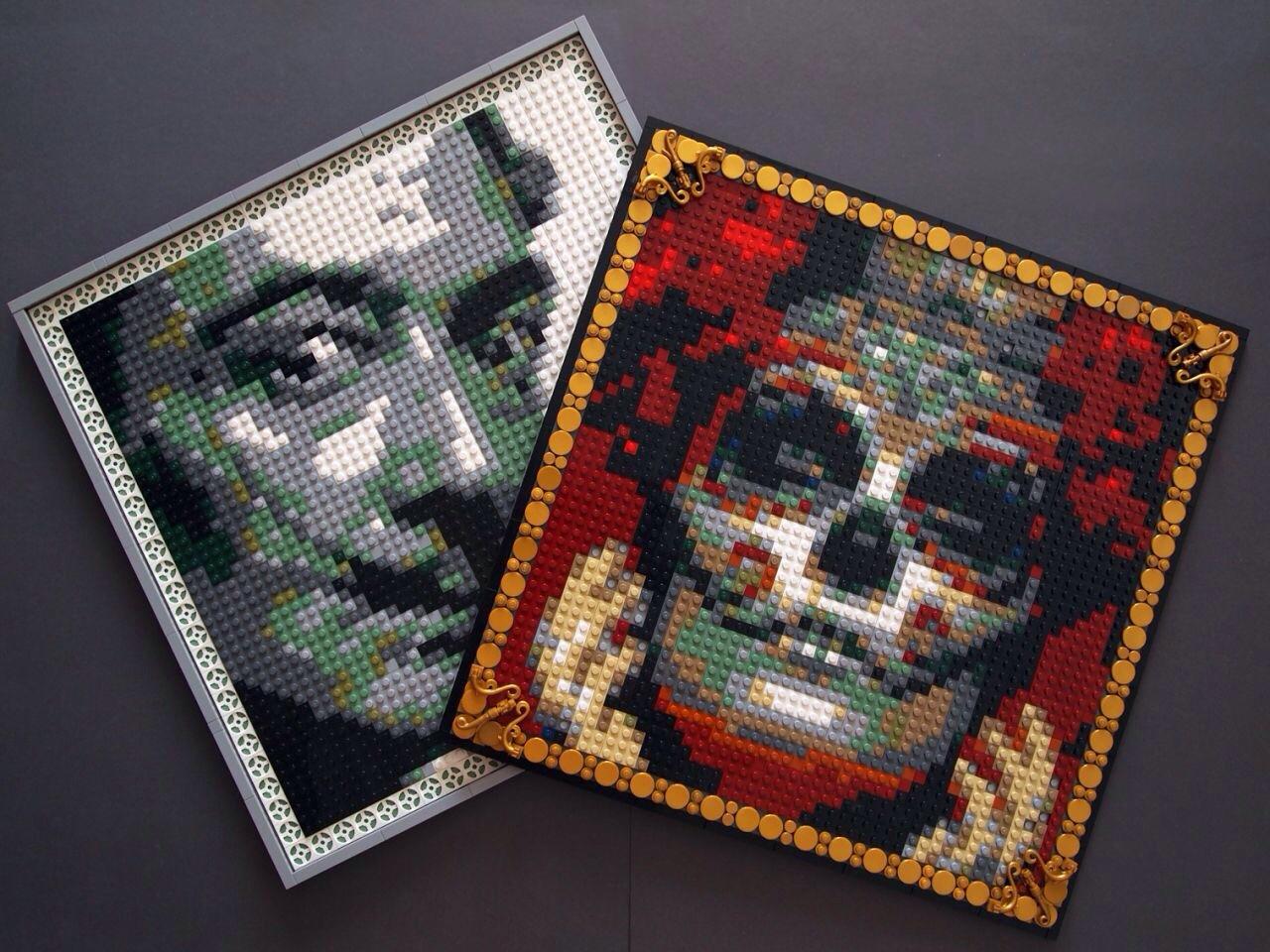 mosaic lego moc