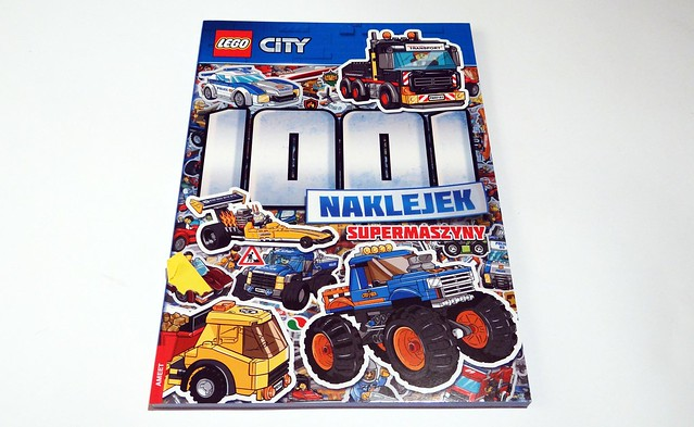 LEGO® City. 1001 naklejek. Supermaszyny (1)