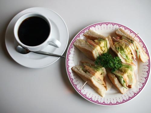 防府・純喫茶エトワルのモーニング