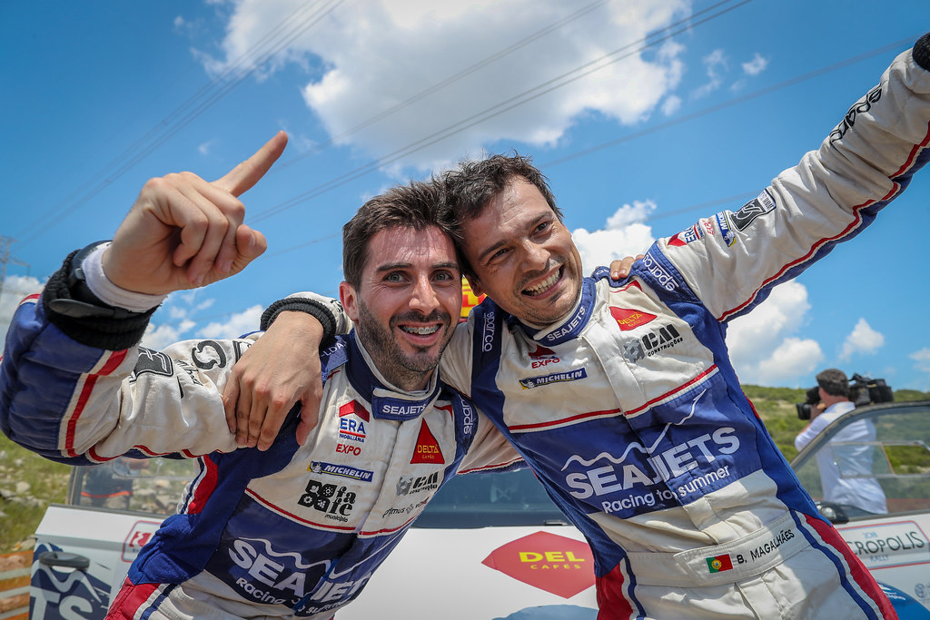 MAGALHAES Bruno (prt), MAGALHAES Hugo (prt), SKODA FABIA R5, portrait during the European Rally Championship 2018 - Acropolis Rally Of Grece, June 1 to 3 at Lamia - Photo Alexandre Guillaumot / DPPI
