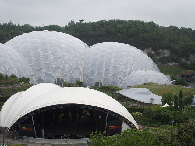 The Eden Project (tropical biome)