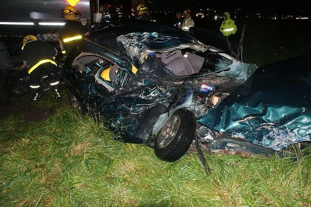 Fatal accidente en Ruta Nacional 205 Km. 111
