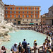 You are never alone at the Trevi Fountain by B℮n