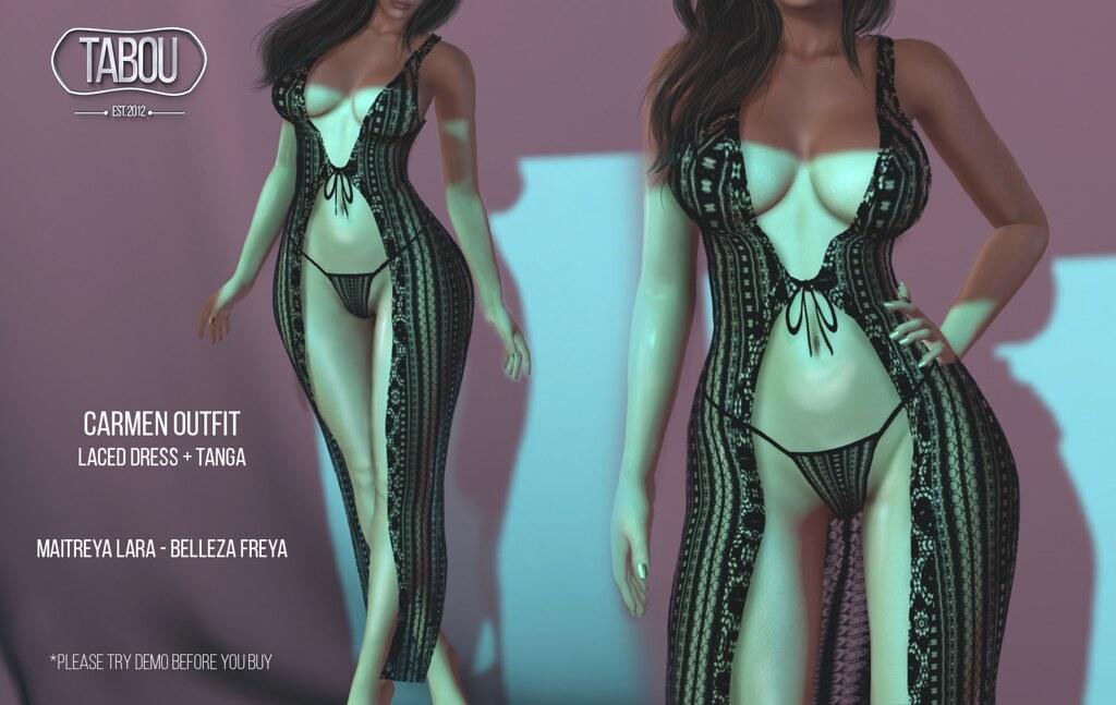 Carmen outfit @Froufrou