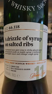 SMWS 66.118 - A drizzle of syrup on salted ribs