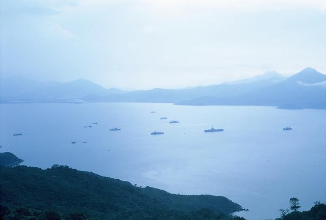 Harbor in Da Nang, 1969 - Photo by Roger Papka