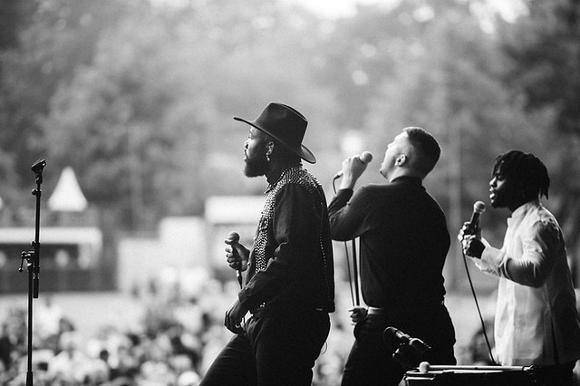 Young Fathers © Tom Hancock