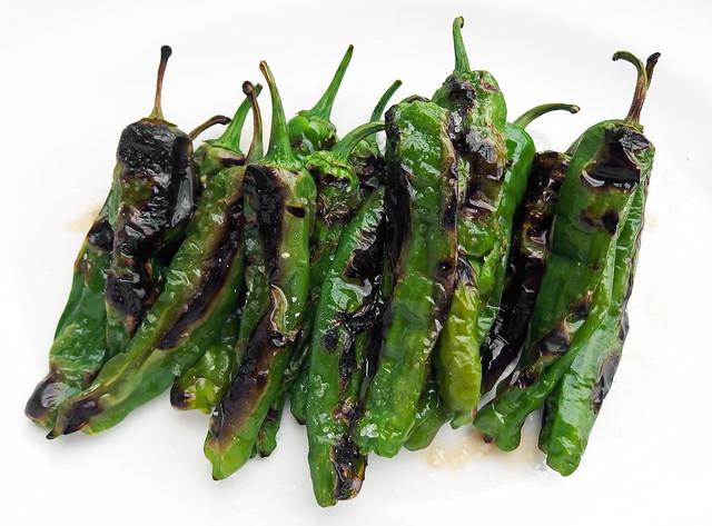 Gegrilde Shishito pepers