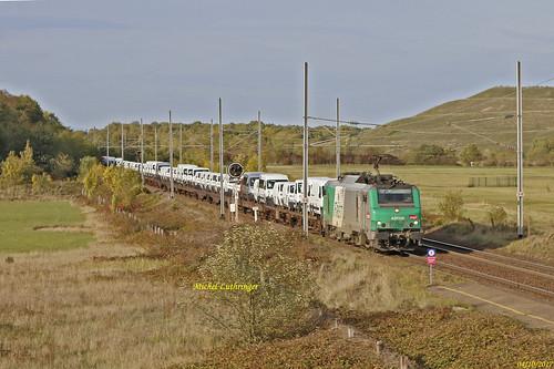 BB 37036 Train de Camionnettes à Staffelfelden
