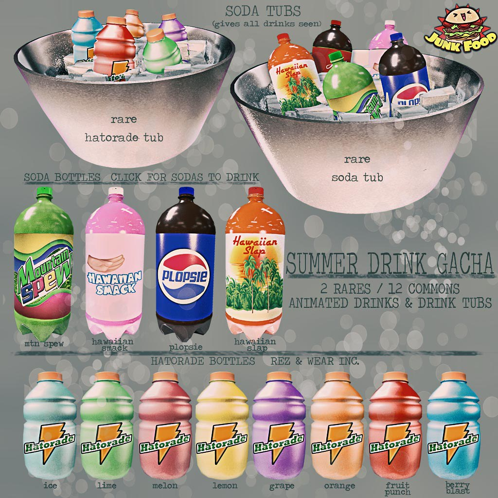 Junk Food – Summer Drinks Gacha