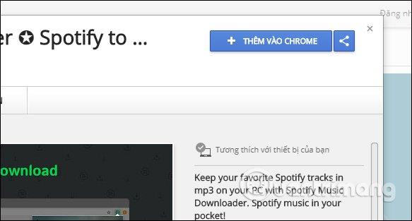 Cách tải nhạc mp3 trên Spotify
