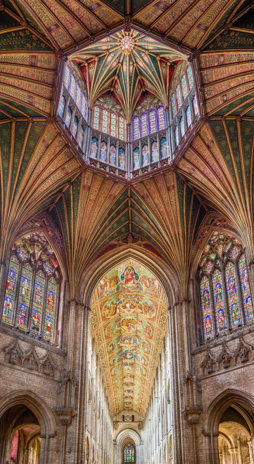 The Octagon at Ely Cathedral. Credit David Iliff