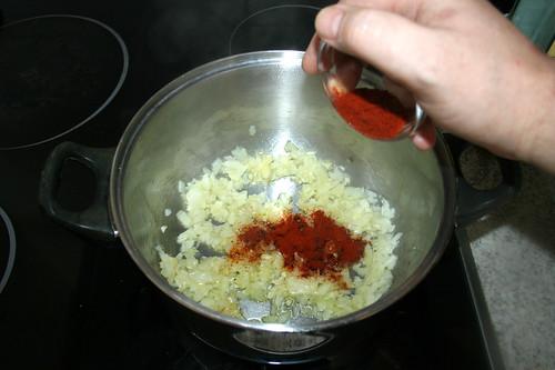 41 - Paprikapulver hinzufügen / Add paprika