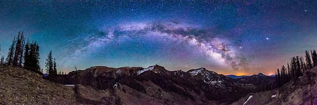 Milky Way over the South San Juan Mountains