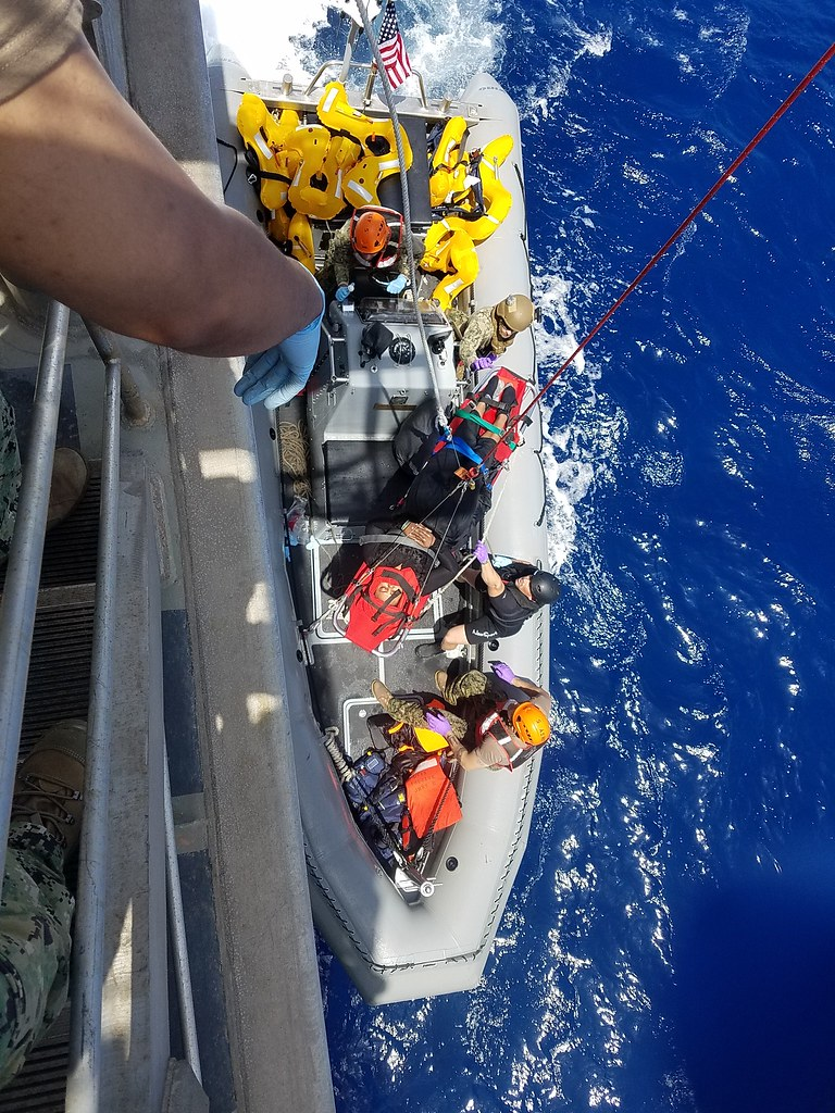 USNS Trenton Mariners in Distress Rescue