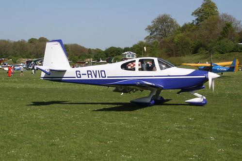 G-RVIO Van's RV-10 [PFA 339-14548] Popham 050518