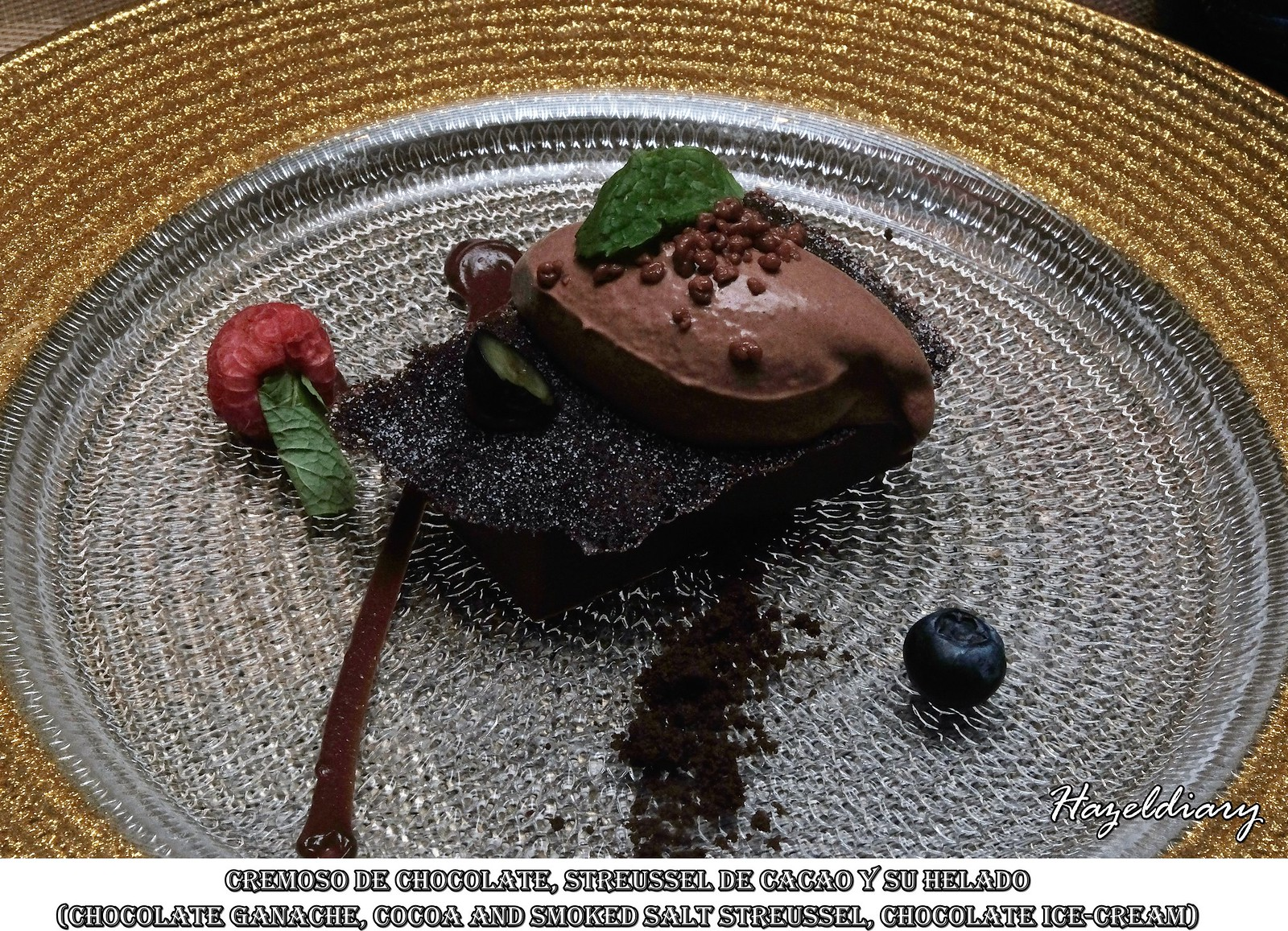 Capella The Knolls-Spanish Gourmet-Chocolate Dessert-Hazeldiary