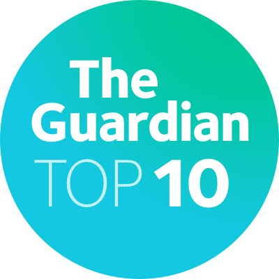 Top 10. Ranked 6th in the UK by the Guardian University Guide 2019