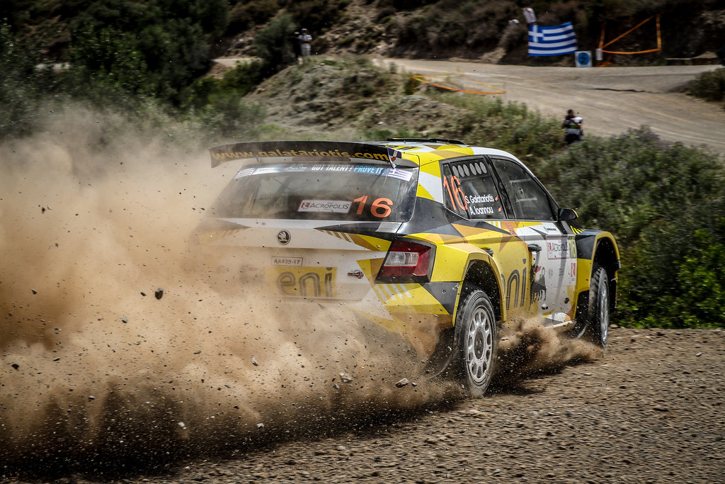16 GALATARIOTIS Simos (cyp), IOANNOU Antonios (cyp), Skoda Fabia R5, action during the European Rally Championship 2018 - Acropolis Rally Of Grece, June 1 to 3 at Lamia - Photo Alexandre Guillaumot / DPPI
