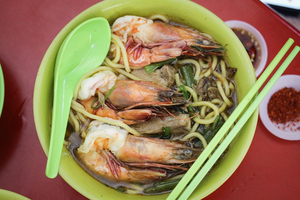 Noo Cheng虾面(俯视图)