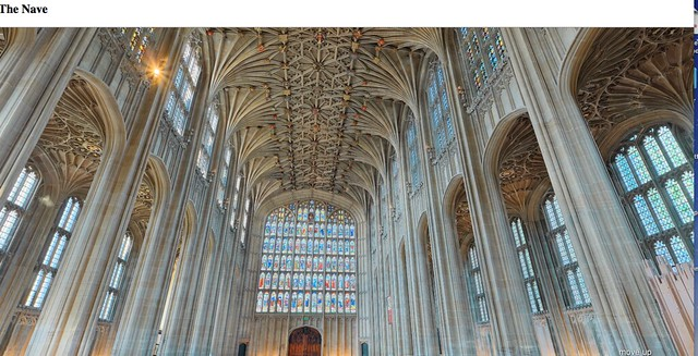 The Nave of St George's Chapel