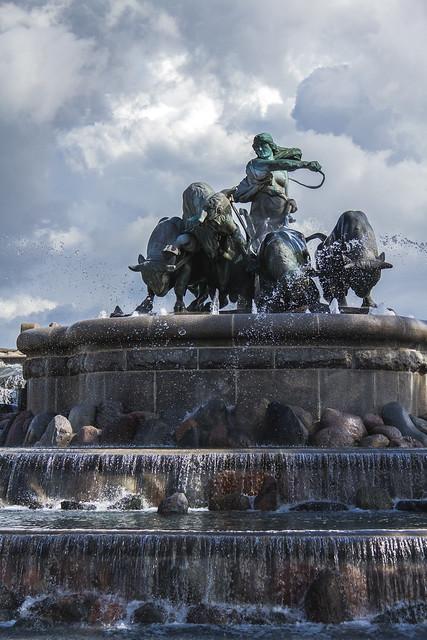 Denmark - Copenhagen - Gefion Fountain