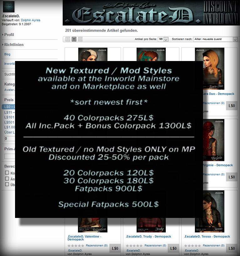 .EscalateD. Marketplace Update - TeleportHub.com Live!