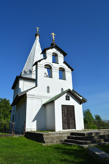 Church and belfry