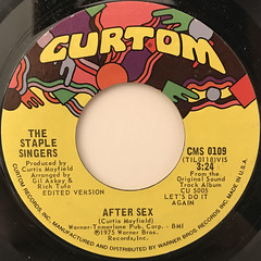 THE SATPLE SINGERS:LET'S DO IT AGAIN(LABEL SIDE-B)