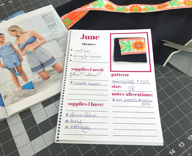 June planner