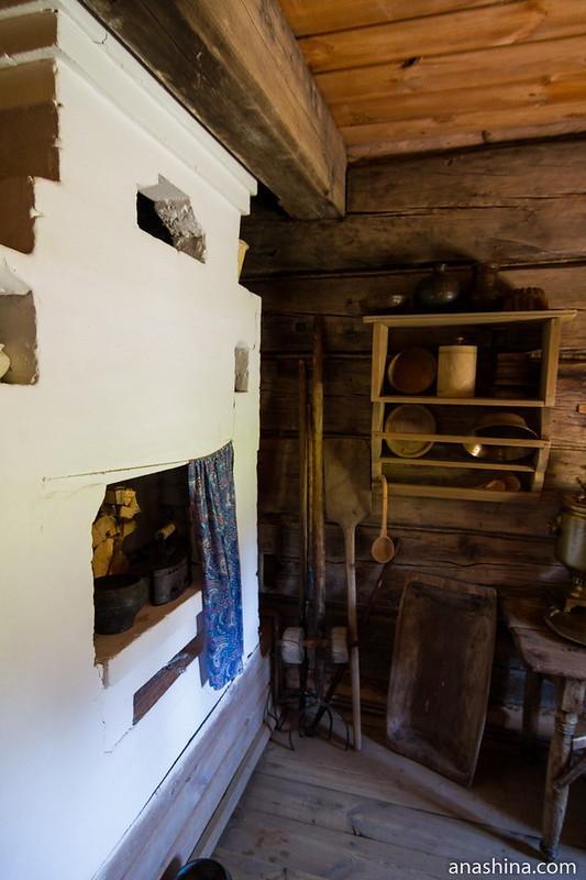 Русская печь, Музей деревянного зодчества, Суздаль
