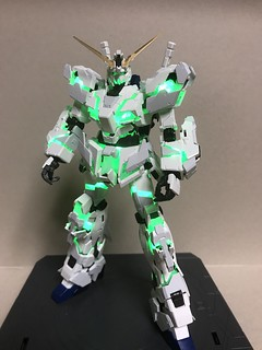 RG 1/144 Unicorn Gundam [Destroy Mode] Lighting Model ver. TWC