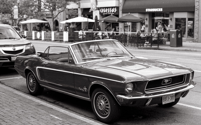 Classic Mustang Convertable