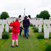 Family at Tyne Cot