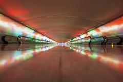Detroit Metro Airport Walkway