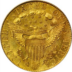 1800 Capped Bust Right Half Eagle reverse