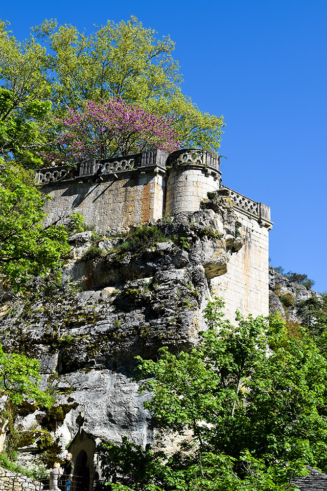 Springtime at Rocamadour, France #unesco #rocamadour #france #travel #travelguide