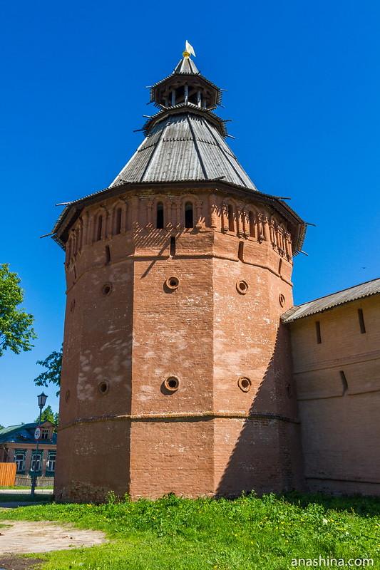 Многоугольная башня, Спасо-Евфимьев монастырь, Суздаль
