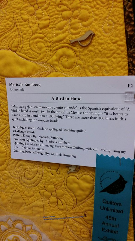 A Bird in Hand by Marisela Rumberg