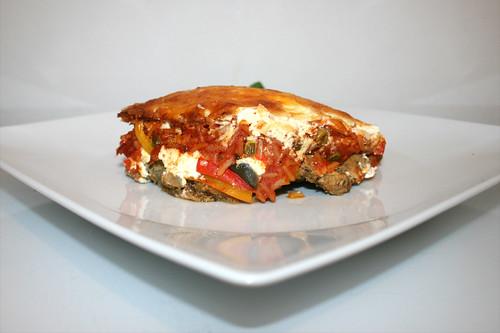 66 - Gyros tomato rice casserole - Side view / Gyros-Tomatenreis-Auflauf - Seitenansicht