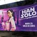 Anuncio de película de Han Solo por laap mx